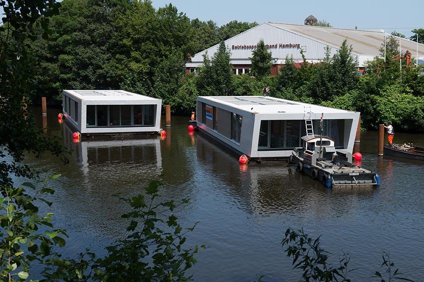 Matthäi – Floating Homes, Hausboote und moderne Architektur