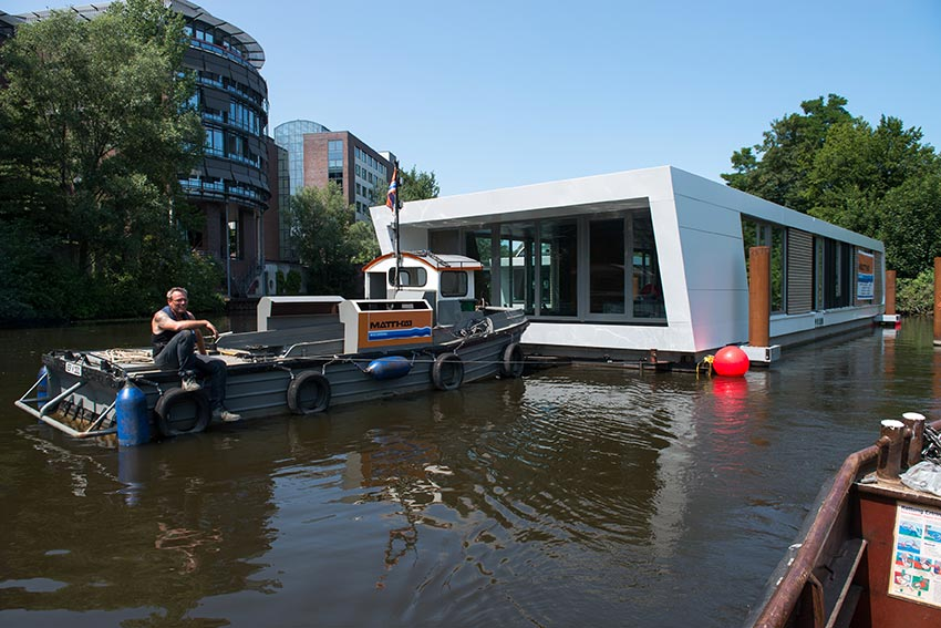 Matthäi Group – Floating homes, houseboats and modern architecture